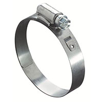 Worm Gear Lined 53-0 Hose Clamps