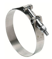 Heavy Duty T-Bolt Hose Clamps